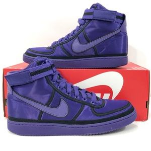 Nike Vandal High Supreme QS Purple Basketball Shoe